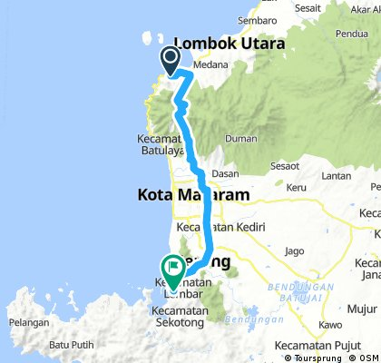 JBL 16a Teluk Nara - Lembar-Ferry