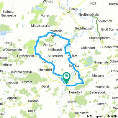 Bremervörde - Lamstedt - Oste-Tour