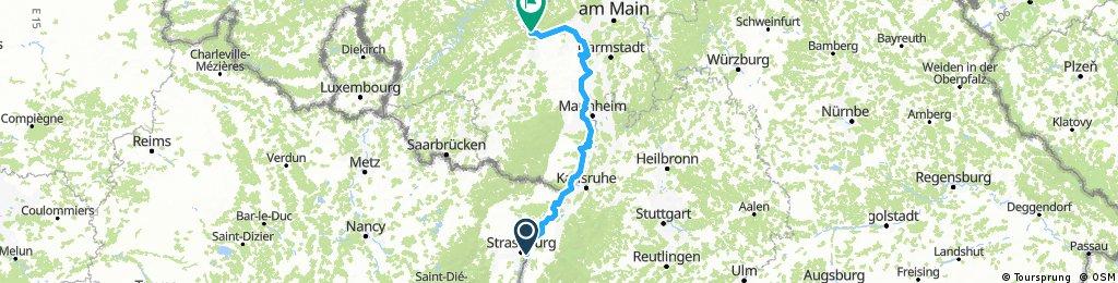 Strassburg – Speyer –Mainz – Trechtinghausen