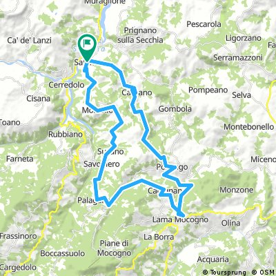 Saltino-Mocogno-polinago 55-1620