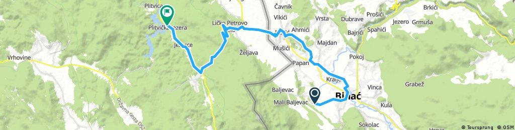 Bihać - Plitvice