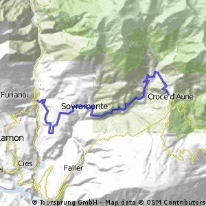 Passo Croce d'Aune (GF Sportful)
