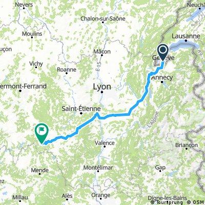Jakobsweg Genf - Saugues
