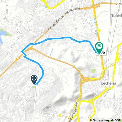 Brief ride from Ciudad Lopez Mateos to Cuautitlán Izcalli
