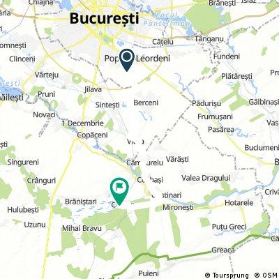 Bucuresti Comana - Offroad