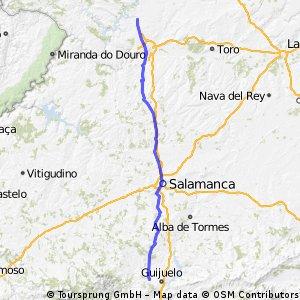 Via de la Plata 5 Fuenteroble-Montamarta