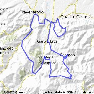 Itinerario salve Mescal del 05 03 2010