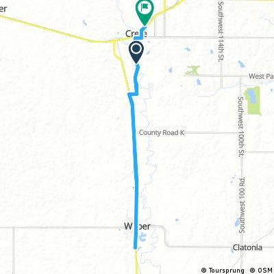 25 Miles Toward Wilber