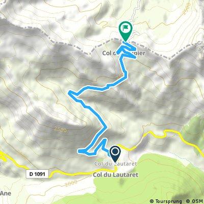 Le Col du Galibier, depuis le Lautaret