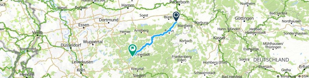 1.Stage: Bad Wünnenberg-Attendorn