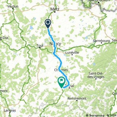 6. Stage: Pont-a-Mossoun - Girancourt