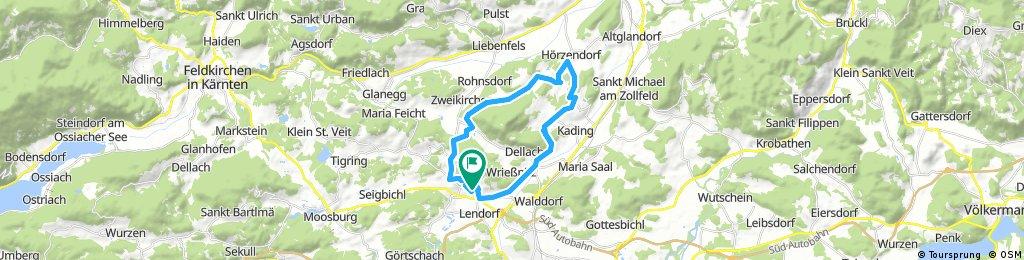 Radrunde durch Klagenfurt (Stadt)