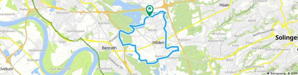 Rund um Hilden - Hülsen, Karnap, Kleef