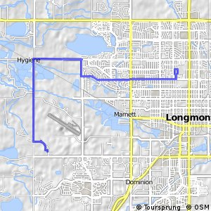 Cycling routes and bike maps in and around Longmont Bikemap Your