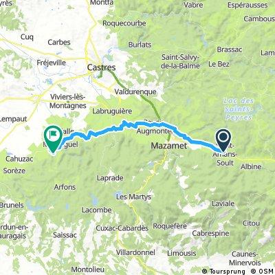 Etappe 03 Sant Amand Soult - Dourgne