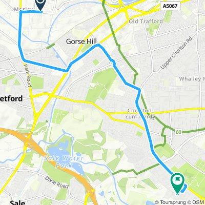 Brief bike tour through Manchester