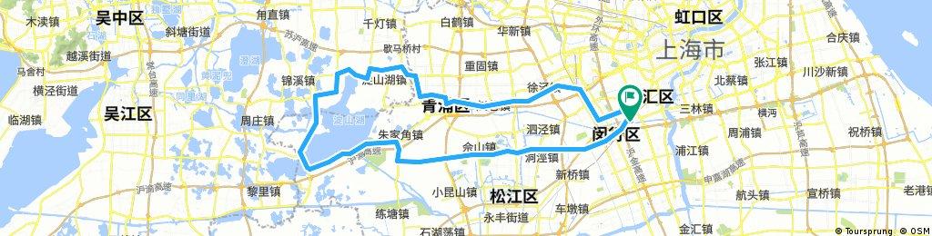 Lengthy Ride Thru Shanghai