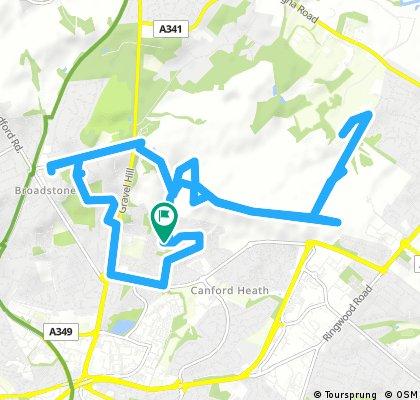 bike tour through Poole