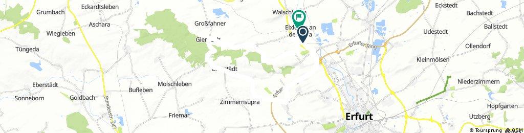 Elxleben - Bienstädt Runde