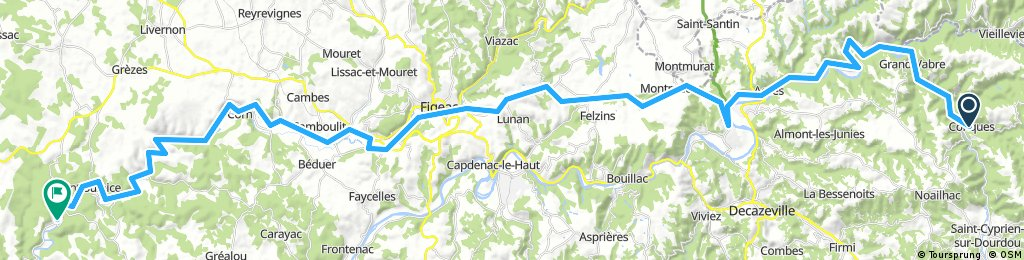 Day 5 - Way of St. James - Le Puy to SJPP