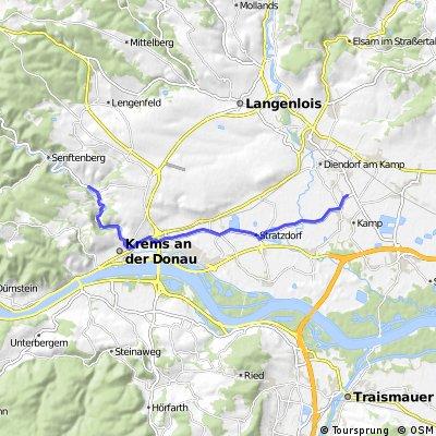Weinviertelradweg / Waldviertelradweg