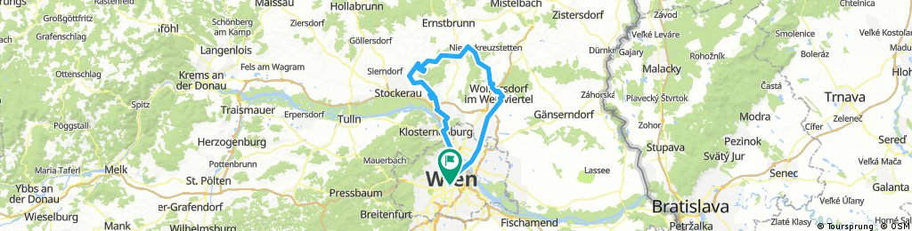Wien-Michelsberg-Kreuttal-Wodorf-Wien