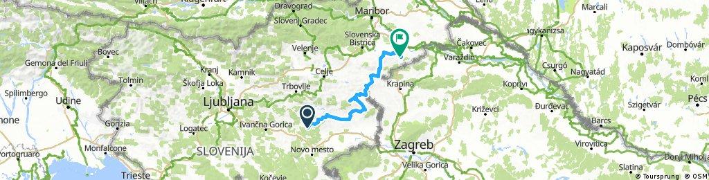 2017 Romarska središča 2. dan (Mokronog - Gorca)