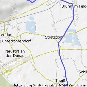 Gedersdorfer Radroute - 7,9km