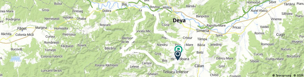 Hunedoara, Cerbăl , Leșnic Vețel , Căoi, Hunedoara