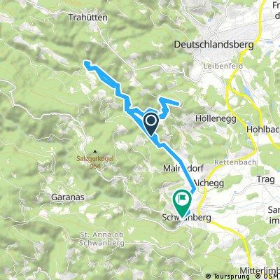 Radrunde durch Schwanberg