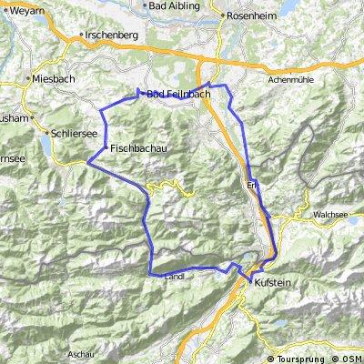Inntal-Runde Kufstein-Thiersee-Bayrischzell