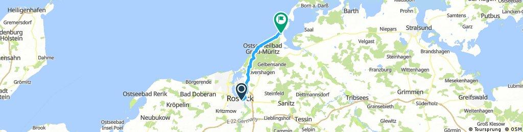 Rostock bis - Dierhagen