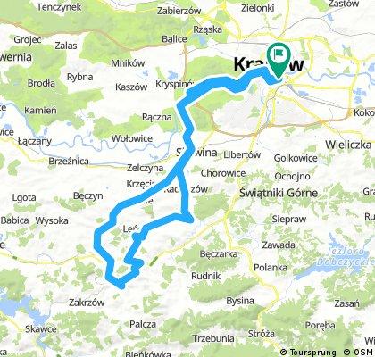 Kraków - Lanckorona - Kraków