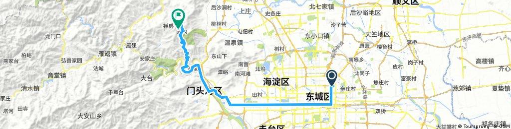 Liangmaqiao to Miaofengshan