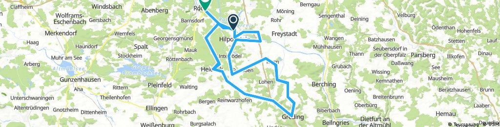 Roth bike map