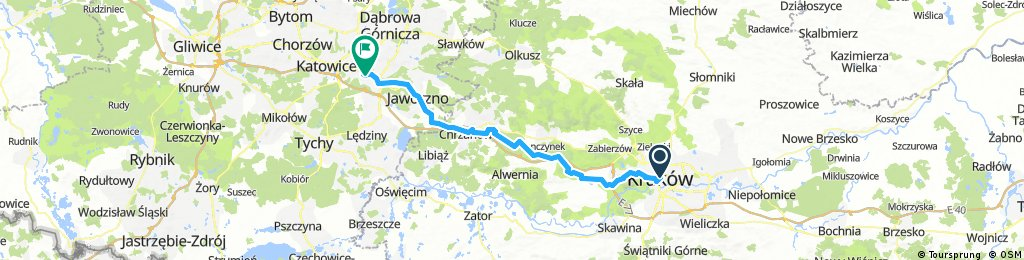 Krakow Trzebinia Mysłowice