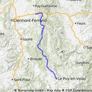 Thiers Le Puy en velay