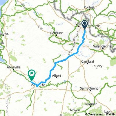 Dag 1 Amiens