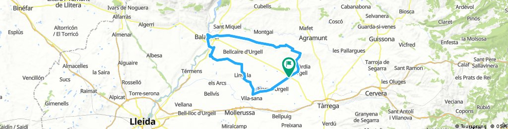 Ruta Serra Bellmunt  curta