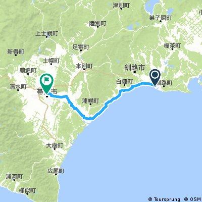 北海道 Day10 釧路to帶廣