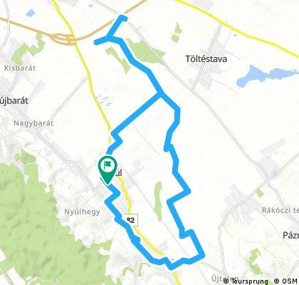 ride through Nyúl