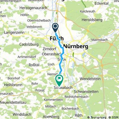 Von Fürth zum Burgergarten