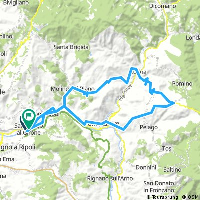 A Borselli per vedere il Giro d'Italia