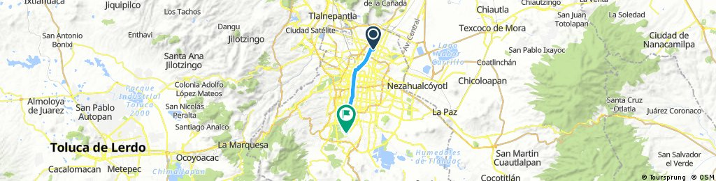bike tour through Mexico City