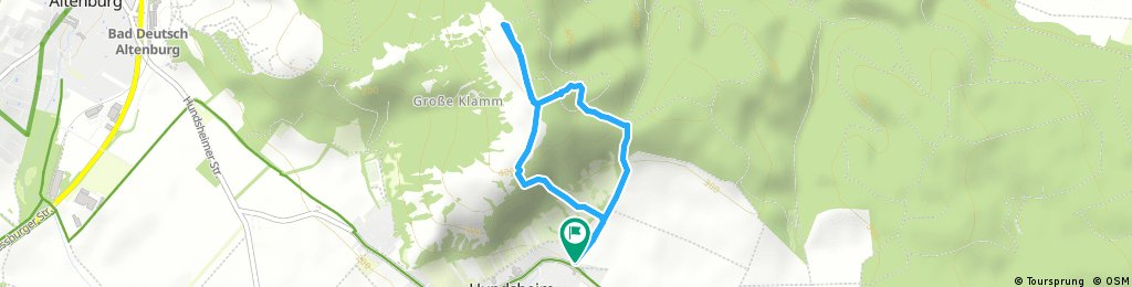 Schnelle Radrunde durch Gemeinde Hundsheim