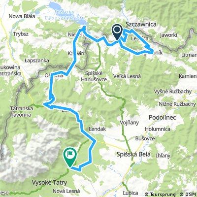 Sromowce Niżne - Tatranská Lomnica