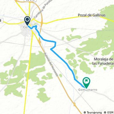Marcha Movilidad - Medina-Gomeznarro