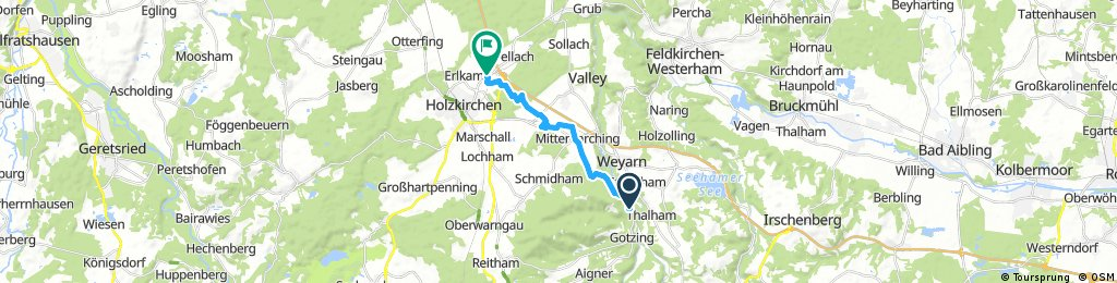 Föching - Taubenberg - Föching