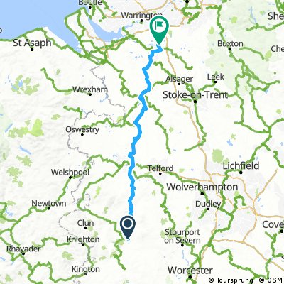 Day 5 - Ludlow to Northwich