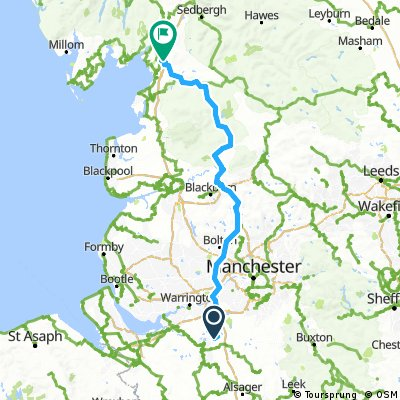 Day 6 - Northwich to Borwick - old